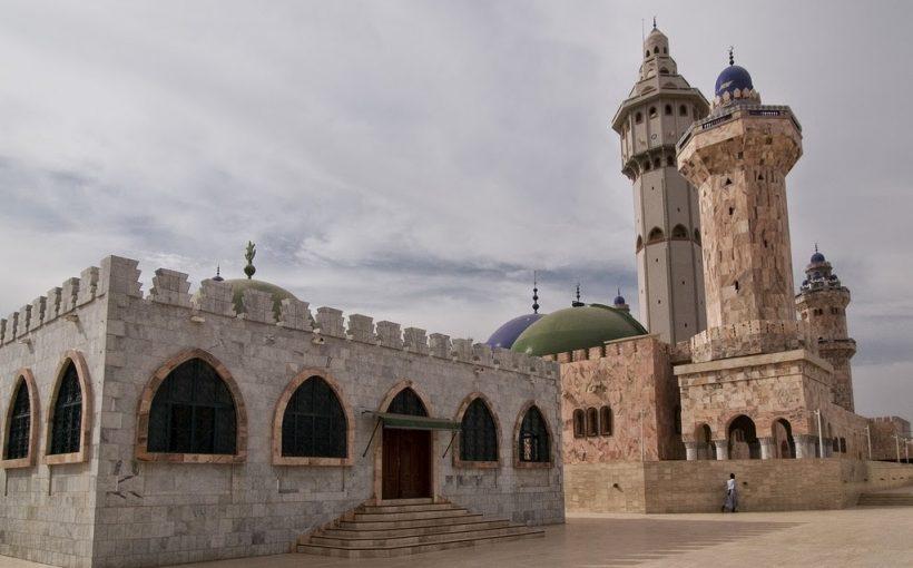 870 Great Mosque in Touba - Senegal